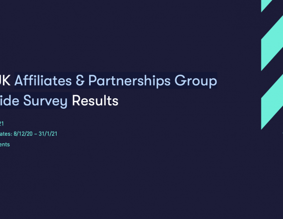 IAB UK Affiliates & Partnerships Group Buyside Survey:  Partnerships Recognised as Powerful Alternative to Primary Sales and Marketing Channels