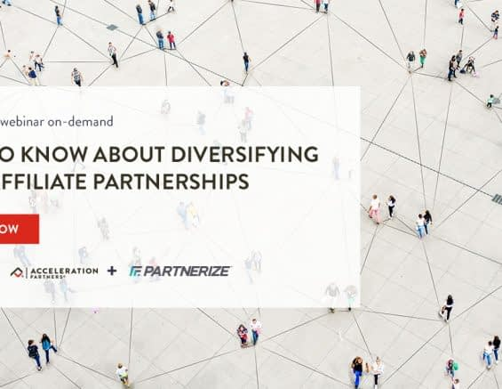 STREAM NOW: What to Know About Diversifying your Affiliate Partnerships