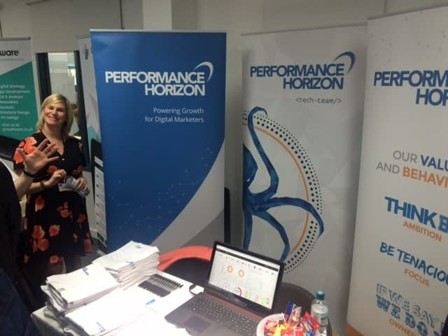 Performance Horizon Exhibits at Great North East Tech Talent Event