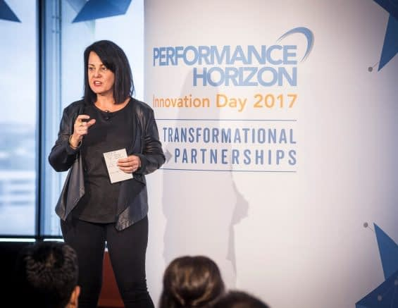 Jane Huxley of Pandora Radio at Innovation Day 2017