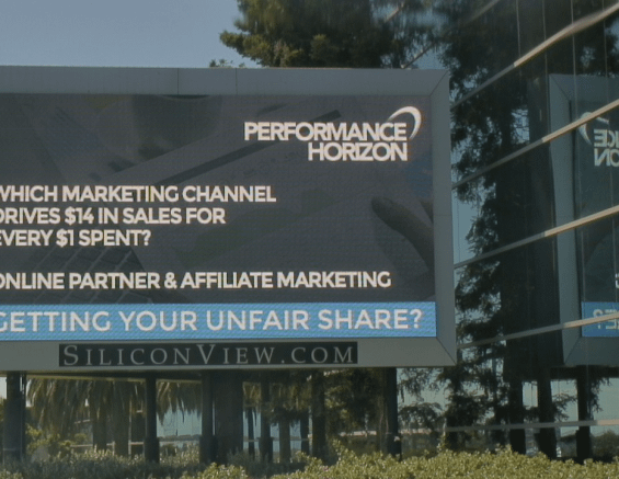 Performance Horizon Billboard